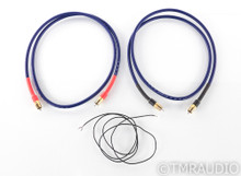 Bob's Devices Shielded Silver Clad Copper Conductor Phono Cables; 1.5m Pair RCA
