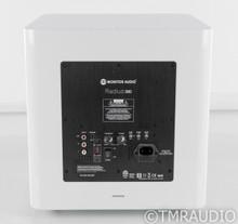 "Monitor Audio Radius 390 10"" Powered Subwoofer; Satin White"