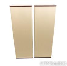 Vandersteen Model 3A Signature Speakers; Mahogany & Tan Pair (New Grill Cloths)