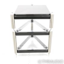Grand Prix Audio Monaco Classic 3-Shelf Isolation Rack; Carbon Formula Shelf