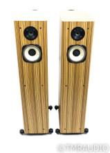 Horning Hybrid Aristotle Ultimate Zigma Plus Speakers; Zebrawood Pair; No Grills