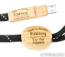 Entreq Eartha Atlantis SII USB Grounding Cable; Single 1.65m; S-II; S2
