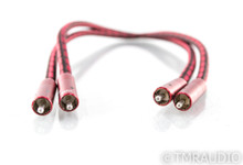 AudioQuest Coral RCA Cables; .5m Pair Interconnects
