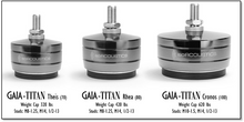 IsoAcoustics Gaia Titan Theis Isolators; Set of 4; New w/ Full Warranty