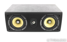 B&W LCR60 S3 Center Channel Speaker; Black Ash; LCR-60