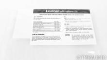 AKG C98 Room EQ Microphone Kit; Set of 2; Lexicon - Rare