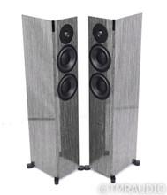 Dynaudio Focus 30 XD Active Floorstanding Speakers; High Gloss Grey Oak Pair