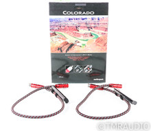 AudioQuest Colorado XLR Cables; .75m Pair Balanced Interconnects; 72v DBS