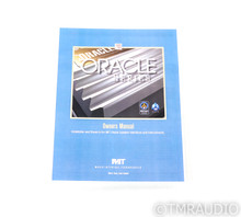 MIT Oracle MA RCA Cables; 8m Pair Interconnects; Low Impedance
