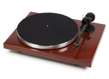 Pro-Ject 1Xpresssion Carbon Classic Turntable; Mahogany; 2M Silver (Open Box)
