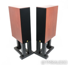 Aerial Acoustics LR5 Bookshelf Speakers; Rosewood Pair w/ Stands; LR-5