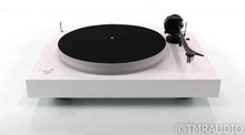 Pro-Ject X2 Turntable; White; Sumiko Moonstone MM Cartridge (Very Low Use)