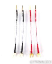 """Nordost Norse Speaker Jumper Cables; 7"""" Set"""