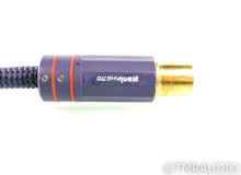 AudioQuest Wild Blue Yonder XLR Cables; Original; 1m Pair Balanced Interconnects