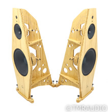 Tri-Art B Series 4 Open Baffle Speakers; Bamboo Pair w/ Crossovers (Open Box)