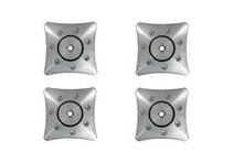 Quadraspire QX7 Floor Protectors; Set of 4; New w/ Full Warranty