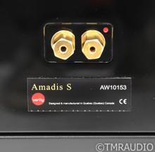 Verity Amadis S Floorstanding Speakers; Piano Black Pair