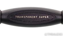 Transparent Audio Super RCA Cables; 1m Pair Interconnects; Gen 5