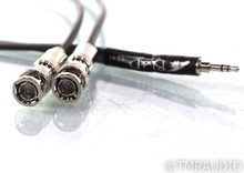 Moon Audio Black Dragon Dual BNC to 3.5mm Cable; 3ft Digital Interconnect; Chord
