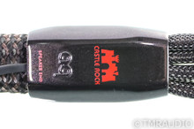 AudioQuest Castle Rock Biwire Speaker Cables; 5ft Pair; 72v DBS