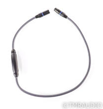 Transparent Audio Plus XLR Cable; Gen 5; Single 1m Balanced Interconnect