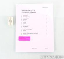 Magnepan MG 3.7i Magneplanar Floorstanding Speakers; MG3.7-i; White & Oak Pair