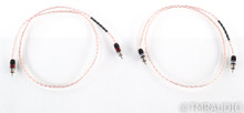 Kimber Kable Timbre RCA Cables; 1m Pair Interconnects; Ultraplate Terminations