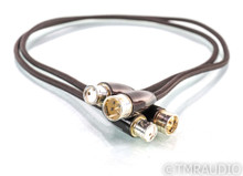 AudioQuest Mackenzie XLR Cables; 1m Pair Balanced Interconnects (One Slightly Longer)