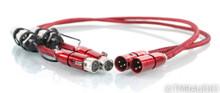 AudioQuest Colorado XLR Cables; 1m Pair Balanced Interconnects; 72v DBS (1/0)