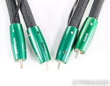 Audioquest Earth RCA Cables; 1m Pair Interconnects