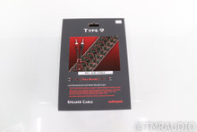 AudioQuest Type 9 REL High Level Subwoofer Cable; 72v DBS (Open Box)