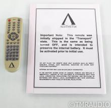 Aesthetix Romulus Tube CD Player / DAC; D/A Converter; Remote; Volume Control