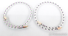 XLO Reference 3 RCA Cables; 1m Pair Interconnects
