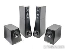 YG Acoustics Sonja 2.3 Floorstanding Speakers; Black Pair; Upgraded