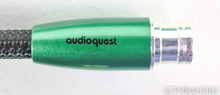 AudioQuest Earth XLR Cables; 1m Pair Balanced Interconnects; 72V DBS