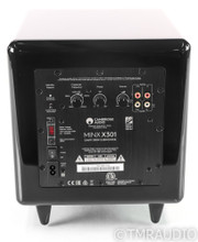 "Cambridge Audio Minx X301 8"" Powered Subwoofer; Gloss Black"