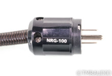 AudioQuest NRG 100 Power Cable; 6ft AC Cord; NRG-100; 72v DBS; C19