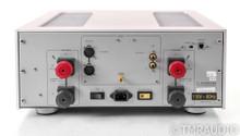 Luxman M-600A Stereo Power Amplifier; M600A; Silver