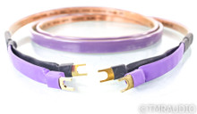 Analysis Plus Oval Nine Speaker Cables; 8ft Pair; 9