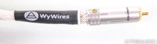 WyWires Platinum Series RCA Cables; 1.5m Pair Interconnects