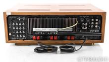 Sansui 5000X Vintage Stereo Receiver; 5000-X; MM Phono; Walnut Cabinet