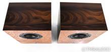 Omega Speaker Systems Compact Alnico Bookshelf Speakers; Redwood Burl Pair