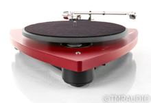 Thorens TD-309 Turntable; TD309; Audio-Technica AT440MLa MM Cartridge; Red