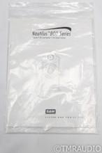 B&W Nautilus 801 Floorstanding Speakers; Black Ash Pair - Rare