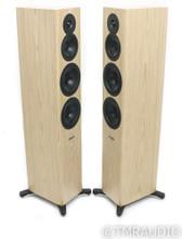 Dynaudio Evoke 50 Floorstanding Speakers; Blonde Wood Pair
