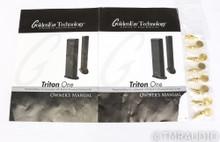 GoldenEar Triton One Floorstanding Speakers; Black Pair