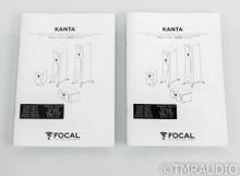 Focal Kanta No.1 Bookshelf Speakers; N1; Gauloise Blue & Walnut Veneer Pair