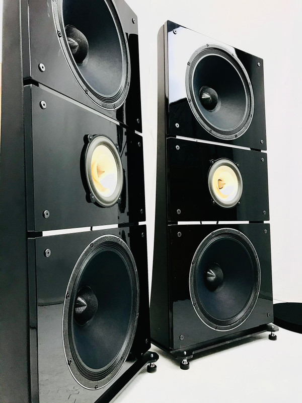 The Gearhead: PureAudioProject Trio15 Voxativ PiFe Open Baffle Speakers