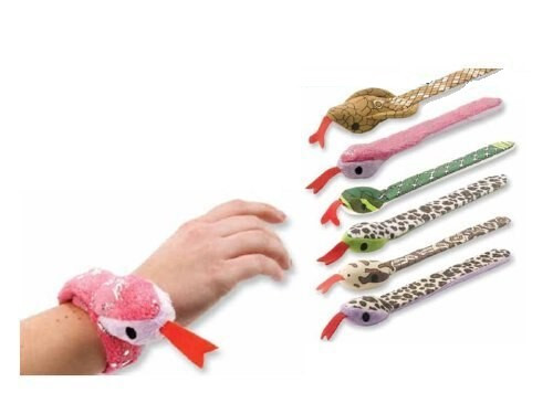 Snake Slap Bracelets, assorted