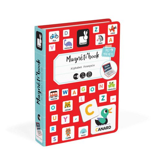 Magnetibook - Alphabet, English
